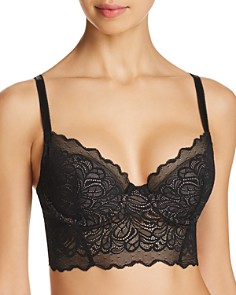 b.tempt'd by Wacoal - Undisclosed Longline Lace Underwire Bralette