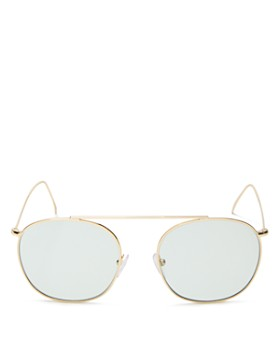 Illesteva - Women's Mykonos II Aviator Sunglasses, 53mm