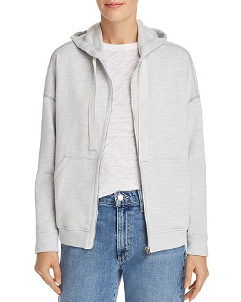 ATM Anthony Thomas Melillo - French-Terry Zip-Front Hoodie