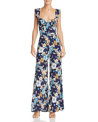 For Love Lemons Magnolia Wide Leg Jumpsuit Bloomingdales