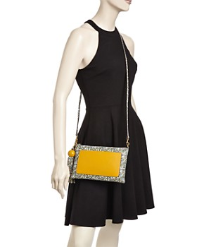 Tory Burch - Color-Block Leather Tassel Crossbody
