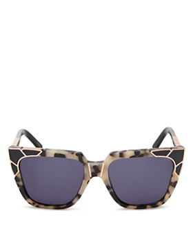 Pared Eyewear - Women's Charlie & The Angels Square Sunglasses, 53.5mm