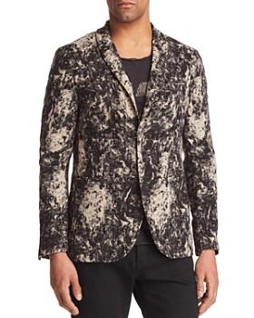 John Varvatos Collection - Velvet Burnout Regular Fit Blazer