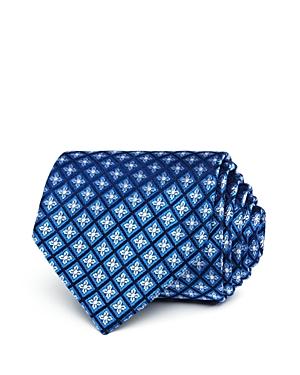 The Men's Store at Bloomingdale's Grid Florette Neat Classic Tie - 100% Exclusive