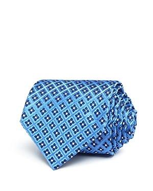 The Men's Store at Bloomingdale's Grid Florette Neat Classic Tie - 100% Exclusive