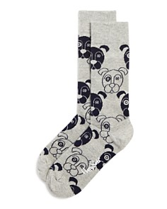 Happy Socks Dog Crew Socks - Bloomingdale's_0