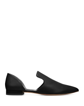 Vince - Women's Damris Calf Leather d'Orsay Flats