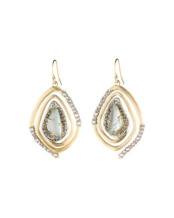 Alexis Bittar - Geo Spiral Drop Earrings