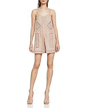 Bcbgmaxazria Hartley Embroidered Romper