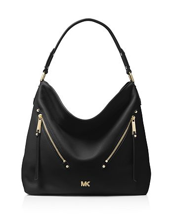 bf7dc586fa3d MICHAEL Michael Kors Evie Large Leather Hobo | Bloomingdale's