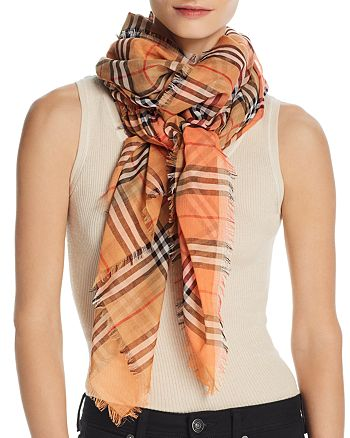 Burberry - Color-Block Vintage Check Scarf