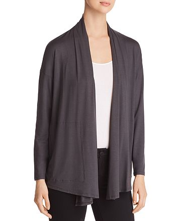 Eileen Fisher - Drape-Front Cardigan