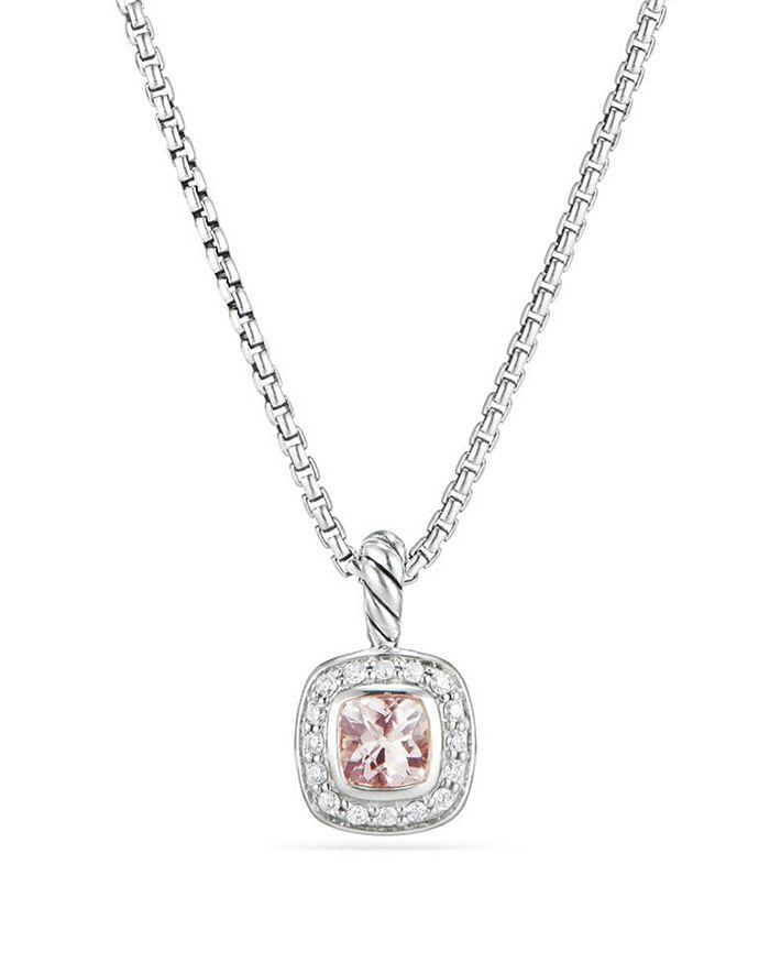 David Yurman - Albion Kids Necklace with Morganite & Diamonds