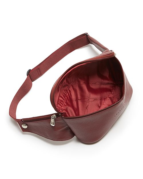 Longchamp Le Foulonn Eacute Leather