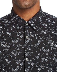 John Varvatos Collection - Floral Print Regular Fit Button-Down Shirt