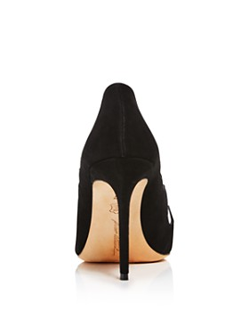 Brian Atwood - Women's Victory Suede Cutout Pointed Toe Pumps
