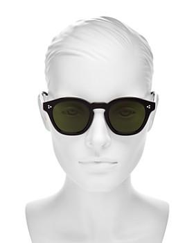 Oliver Peoples - Women's Bourdreau L.A. square Sunglasses, 48mm