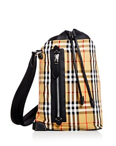 Burberry - Small Vintage Check Duffel Bag