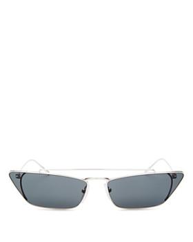 Prada - Women's UltraVox Brow Bar Slim Cateye Sunglasses, 67mm