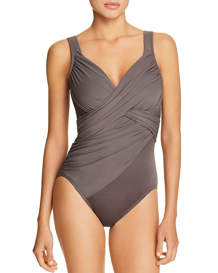 7103d0648fc73 Miraclesuit Rock Solid Revele One Piece Swimsuit | Bloomingdale's