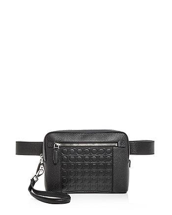 Salvatore Ferragamo - Firenze Gamma Leather Belt Bag