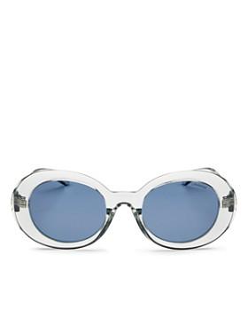 Polaroid - Women's Polarized Round Sunglasses, 52mm