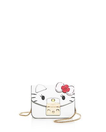 0c2c1e902 Furla Hello Kitty Metropolis Mini Leather Crossbody | Bloomingdale's
