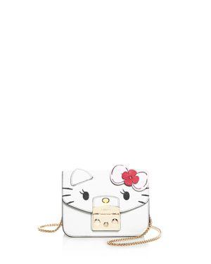 Furla Hello Kitty Metropolis Mini Leather Crossbody 2979699