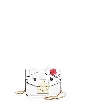 Furla Hello Kitty Metropolis Mini Leather Crossbody