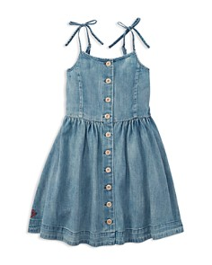 Polo Ralph Lauren Girls' Denim Dress - Little Kid - Bloomingdale's_0