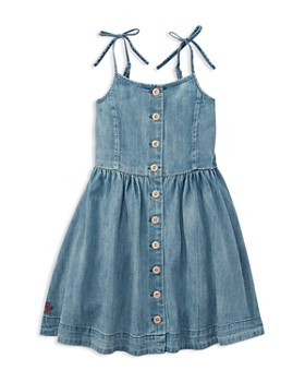 Ralph Lauren - Girls' Denim Dress - Little Kid