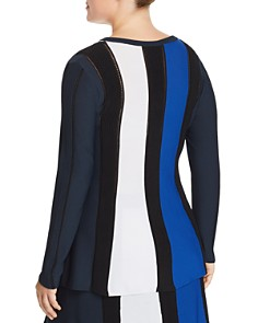 Marina Rinaldi - Galleria Color Block Rib Sweater