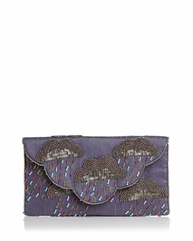 From St Xavier - Cirrus Cloud Beaded Convertible Clutch