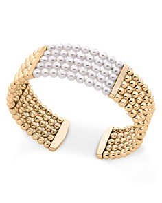 Majorca Simulated Pearl Cuff Bracelet - Bloomingdale's_0