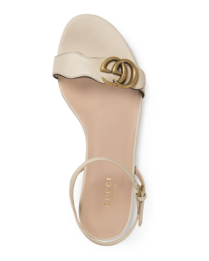 5b8a51e63b1f Gucci - Women s Marmont Leather Double G Sandals