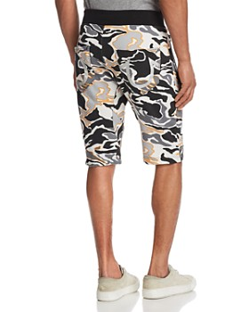 True Religion - Camouflage Print Sweat Shorts