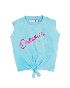 Play Six - Girls' Tie-Front Dreamer Tank - Little Kid