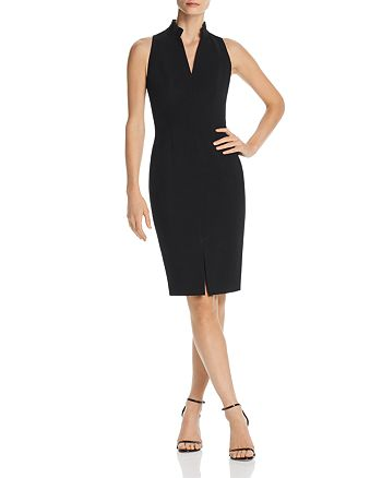 Black Halo - Antoinette Pleated-Collar Dress