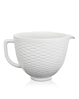 KitchenAid - 5-Quart Textured Ceramic Bowl #KSM2CB5TLW