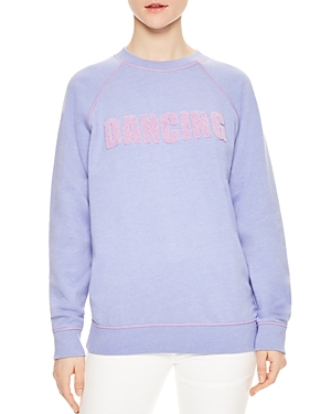 Sandro Philipine Dancing Graphic Sweatshirt