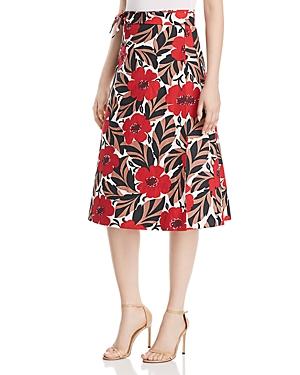 kate spade new york Poppy Field Wrap Skirt