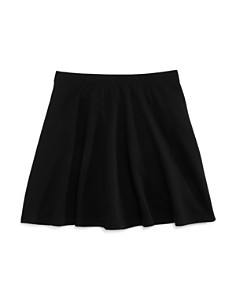 AQUA Girls' Textured Flared Skirt, Big Kid - 100% Exclusive - Bloomingdale's_0