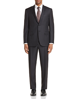 Canali Banker Stripe Classic Fit Suit