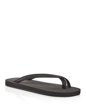 Danward - Men's Toe Ring Luxe Flip-Flops