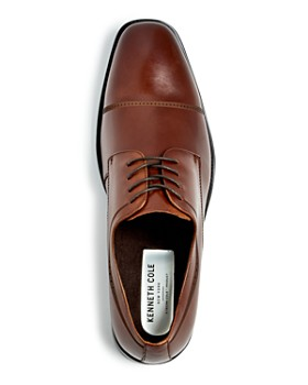 Kenneth Cole - Men's Leisure Time Leather Cap Toe Oxfords