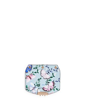 Furla - MY PLAY Interchangeable Metropolis Mini Butterly Print Leather Flap