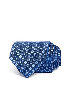 The Men's Store at Bloomingdale's Mini Circle Medallion Classic Tie - 100% Exclusive_0