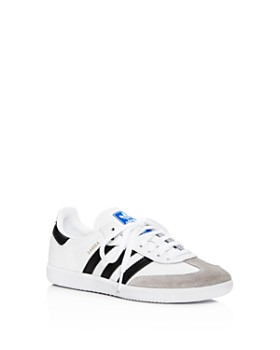 online retailer 64f68 354b9 Adidas - Unisex Samba Leather   Suede Lace Up Sneakers - Big Kid ...