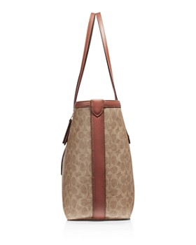 COACH - Signature Coated Canvas Market Tote