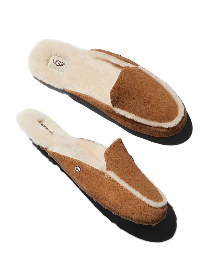 b22df0974bf Women's Lane Suede & Shearling Slippers
